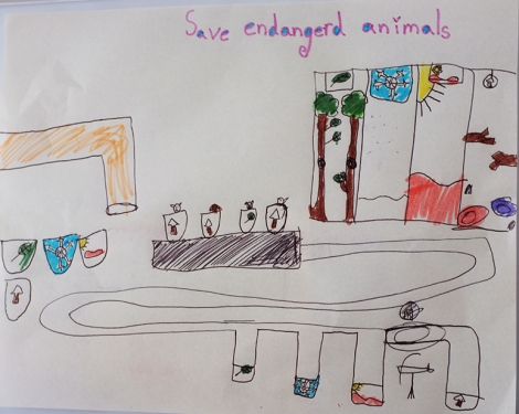 Invention for saving endangered animals