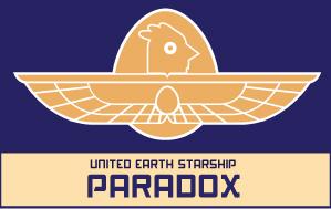 Starship Paradox logo