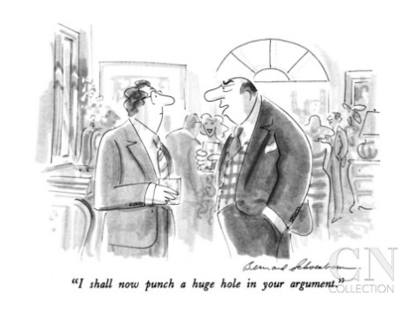 Cartoon by Bernard Schoenbaum
