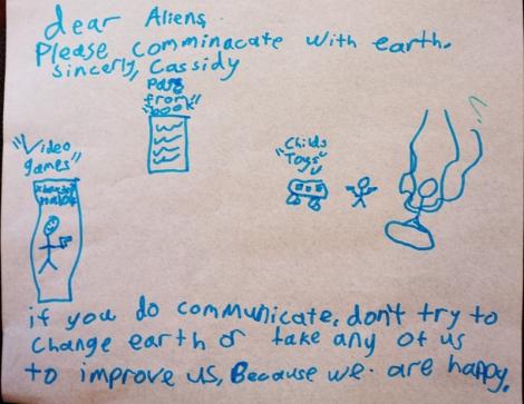 Dear Aliens